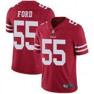 49ers Dee Ford Red Jersey